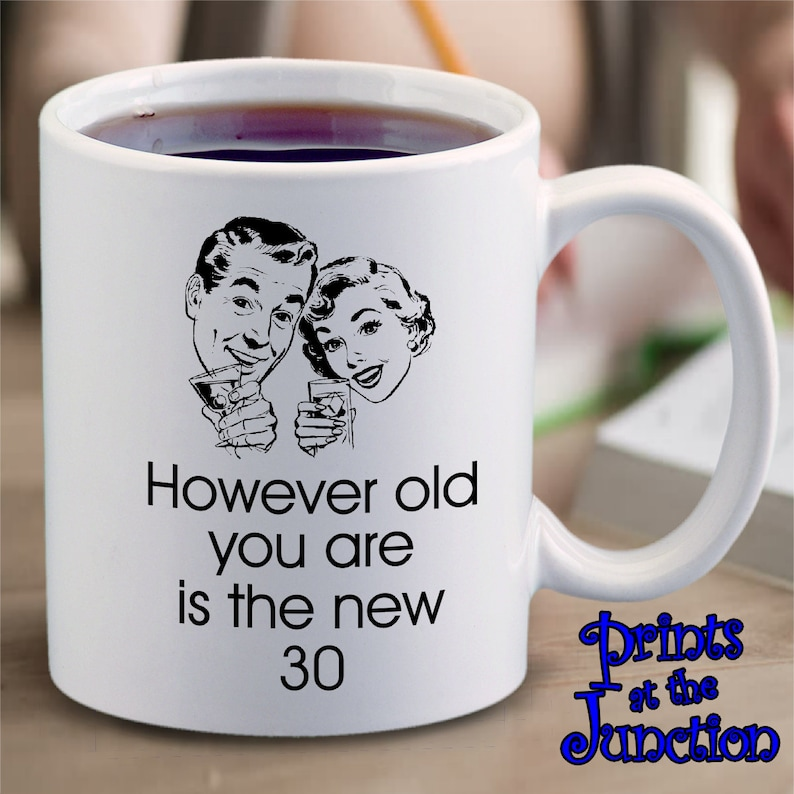 Funny Retro Birthday Mug Gift/Retro Meme Coffee Mug/However | Etsy #coffeeLovers