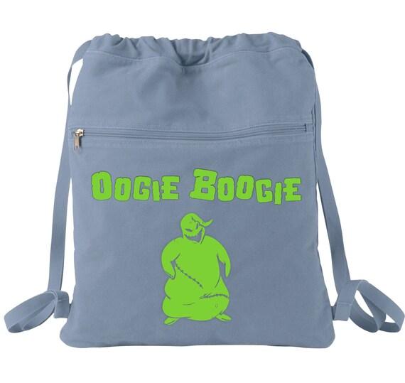 The Nightmare Before Christmas Oogie Boogie Drawstring Backpack Backpack Bag