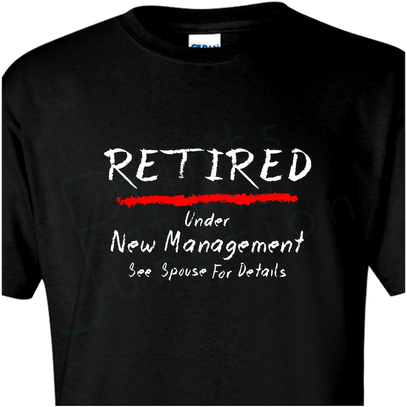 5d9b7f9c73 Retirement T-Shirt Gift/ Funny Retired T-Shirt/ Chalkboard | Etsy