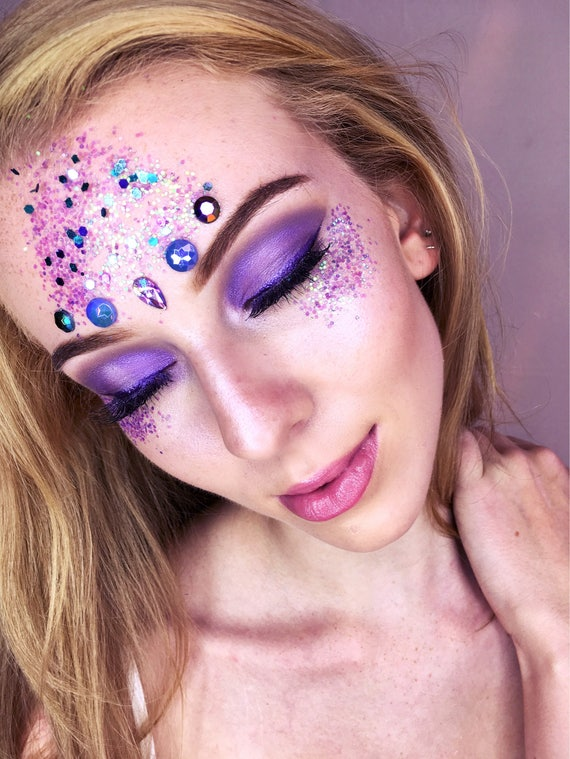 Glitter Set Loose Glitter Makeup Mermaid Glitter Halloween Etsy