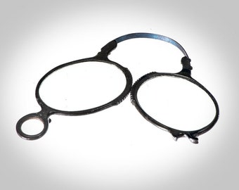 820447c66f26 unusual folding Pince Nez eyeglasses spectacles 19th century