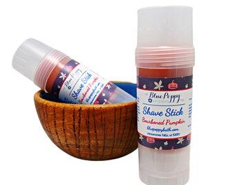 Shaving Soap Stick, Bourboned Pumpkin Fall Fragrance Scent