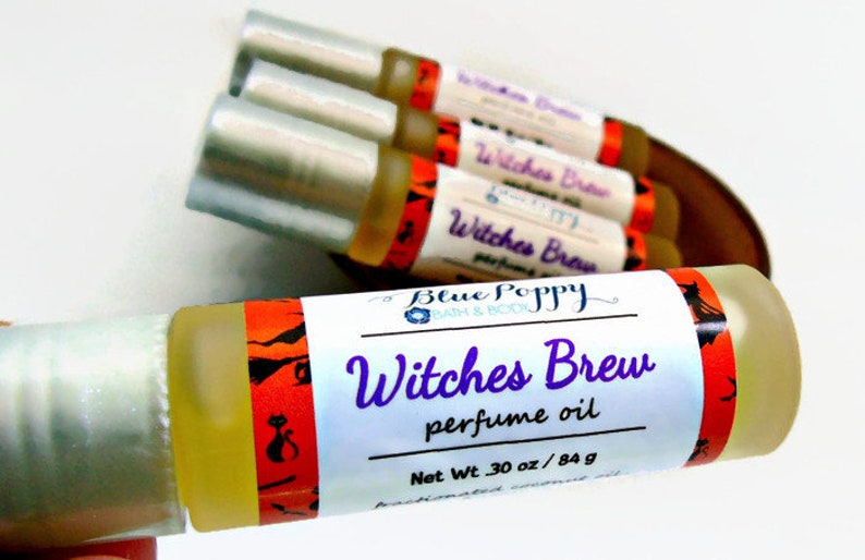 Witches Brew Perfume Patchouli Cinnamon and Cedarwood image 0