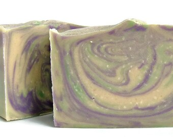 Lavender Woods Goats Milk Soap, Handmade Soap, Palm Free,