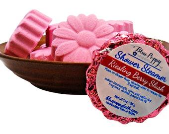 Riesling Berry Slush Shower Steamer 3 Pack, Wine Lover Gift