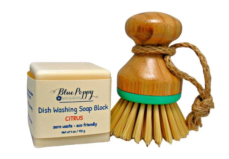 Dish Washing Soap Block Eco Friendly Zero Waste Product image 0