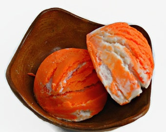 Southern Peach Bubble Scoop Truffle, Bath Scoop 2 Pack, Bath Bar