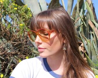 Designer Sunglasses For Women - Retro Sunglasses For Gift - Bohemian Festival Clothes - Vintage Playboy Sunglasses - Playboy - Gift For Her