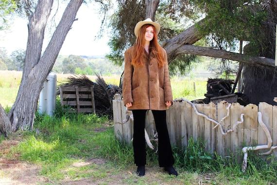 Shearling Afghan Coat - Sheepskin Penny Lane Coat