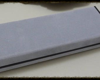 Gray Felt Pen Box