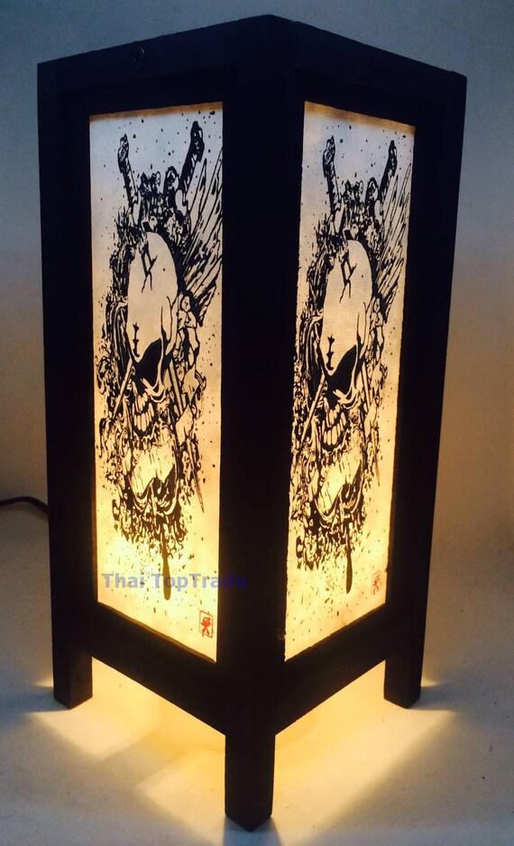 Thai Vintage Handmade ASIAN Oriental Handcraft Japanese Sunset Bamboo Tree