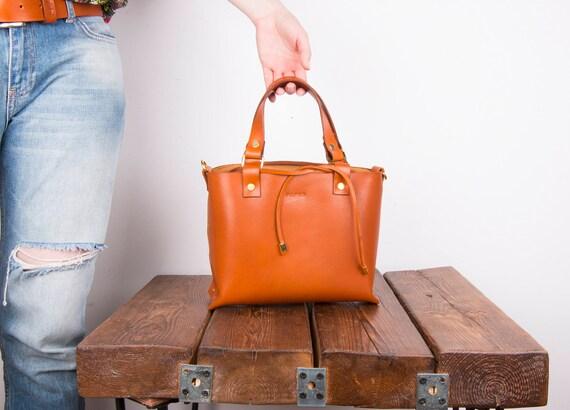Tote bag, Leather tote, Leather bags, handbags, handmade leather purse, brown leather tote, leather shoulder bag, Crossbody strap bag,