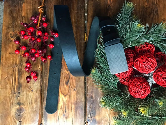 Black mens leather belt, Leather belt, mens gift, boyfriend gift, Handmade mens belt, gift for him, wide leather belt, father's day gift