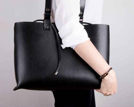 Leather bag for women Leather Tote leather tote bag black  766ec58c19126