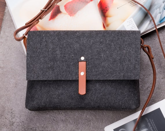 Leather purse, leather crossbody bag, felt cross body bag, small messenger bag women, handbags crossbody, best selling items, busy bags