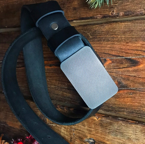 Black mens leather belt, Leather belt, mens gift, boyfriend gift, Handmade mens belt, gift for him, wide leather belt, father's day gift