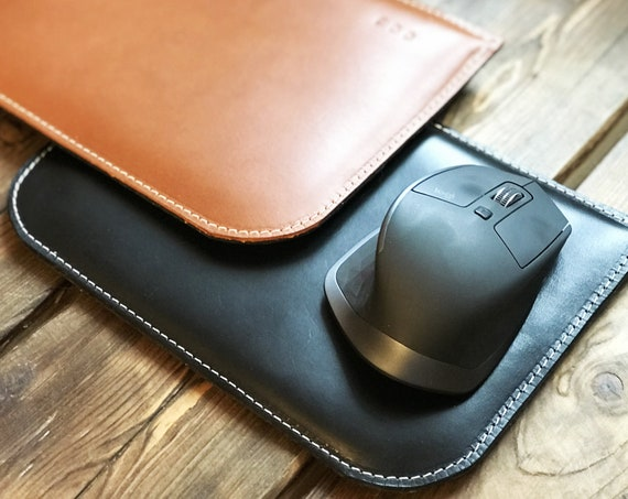 Personalized leather mousepad, Leather Mouse pad, custom Mouse pad, desk accessories, desk organizer, mouse mat, home decor, father's day