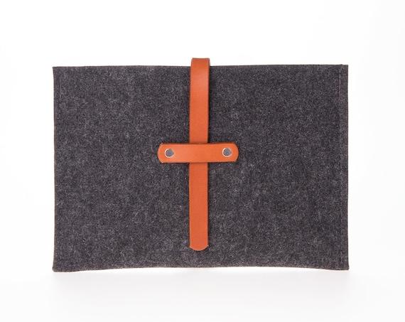 Simple ipad pro case, leather ipad case 9.7, fabric ipad air 2 case, ipad cover, felt ipad sleeve 10.5, ipad pro 12.9 case, father's day