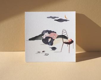 Postcard - Sweet Sharing