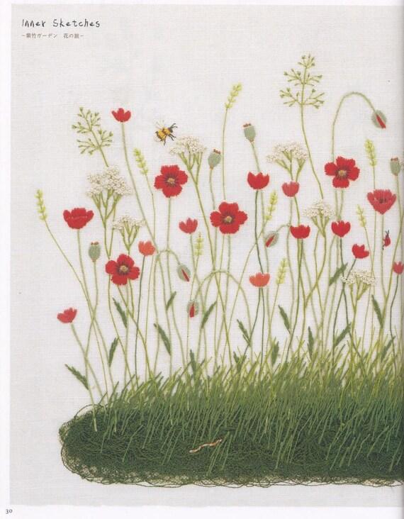 40 Hand Embroidery Patterns Kazuko Aoki Embroidery Etsy