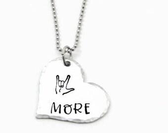 Love Symbol Necklace and BraceletsLove Symbol JewelryLove Necklace or BraceletSuede Love Bracelet or Silver Necklace
