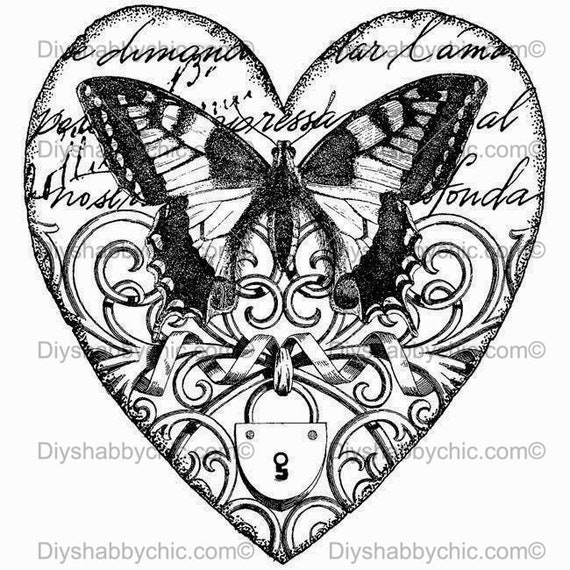 5.8 x 8.3 inches Leopard Print Style Heart Iron on transfer for DARK clothing