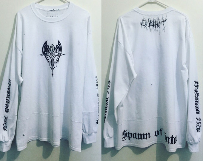 W1+ch TrAP//////Long sleeve T