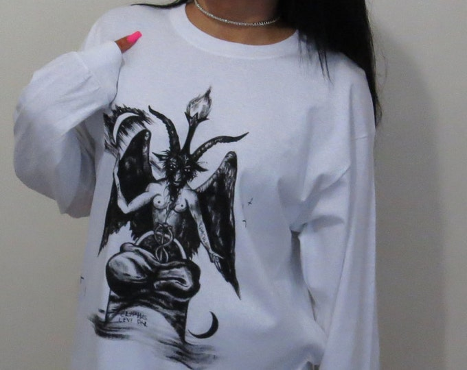 Baphomet Long Sleeve Top