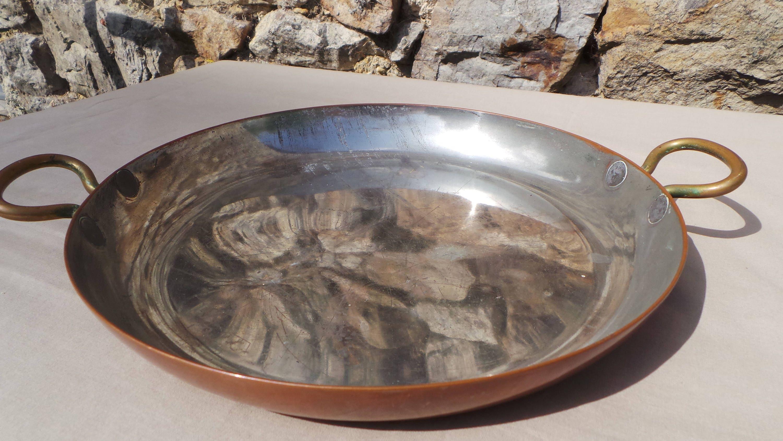 Copper Au Gratin Pan Pie Dish Copper Roasting Dish Pan
