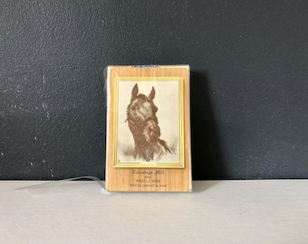 Vintage Redi-Slip Finish Horse Playing Cards Conestoga Mill and Paoli Inn Restaurant and Bar