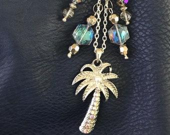 Palm Tree Purse Dangle/Keychain