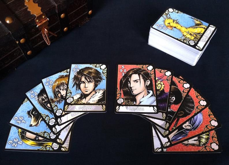 FFVIII Triple Triad Full Card Set image 0
