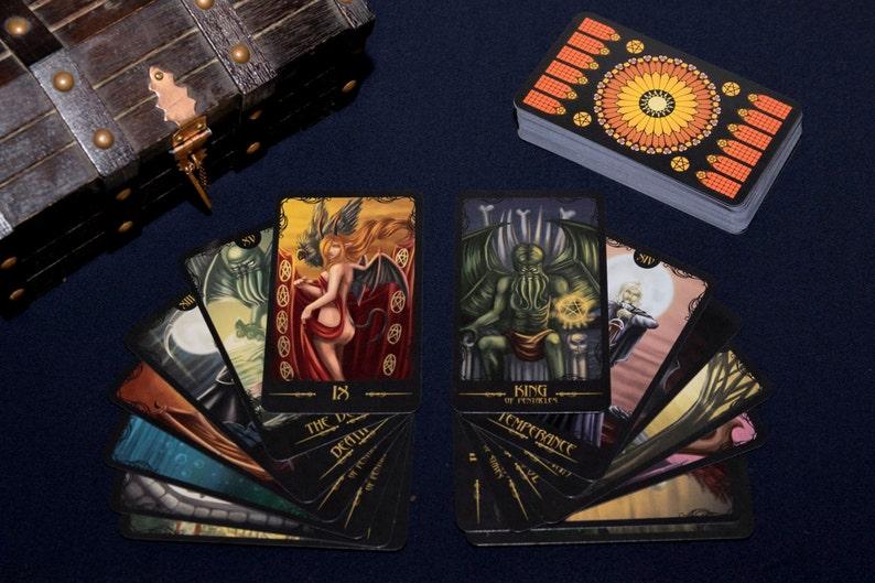 Gothic Horror Tarot Deck image 1