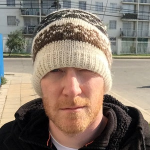 Made in Chile Alpaca Beanie Hat Chilean Alpaca Wool Beanie Hats Alpaca Wool Beanie Hat Knit Wool Beanie Fair Trade Alpaca Wool Hat