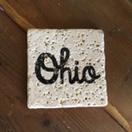 Tumbled Stone Ohio Coasters