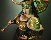 Signed Cosplay print of 'Lady Loki' cosplay by PretzlCosplay A4 size