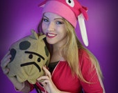 Signed Cosplay print of 'Pokemon GO trainer and Shroomish' cosplay by PretzlCosplay A4 size, PokemonGO, Pokeball, Magikarp beanie