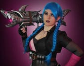 Signed Cosplay print of 'League of Legends - Jinx' cosplay by PretzlCosplay A4 size