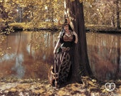 Signed Cosplay print of 'Lady Loki' in the forest, cosplay by PretzlCosplay A4 size