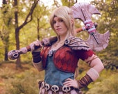Signed Cosplay print of 'Astrid Hofferson - How to train your dragon 3' cosplay by PretzlCosplay A4 size
