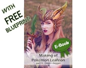 Cosplay propmaking tutorial book 'Making of Leafeon's dagger' by Pretzl Cosplay - E-BOOK