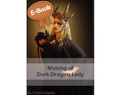 Cosplay Worbla and sewing tutorial book 'Making of Gothic Dragon Lady' by Pretzl Cosplay - E-BOOK