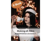 Cosplay sewing tutorial book 'Making of Alice (Alice Madness Returns)' by Pretzl Cosplay - E-BOOK, learn how to make cosplay, sewing guide