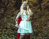 Signed Cosplay print of 'She Ra' cosplay by PretzlCosplay A4 size