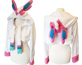 Pastel candy coloured fairy cosplay costume hoodie (shrug style) Super kawaii