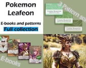 Digital cosplay tutorial and pattern FULL COLLECTION 'Pokemon Leafeon' by Pretzl Cosplay - PDF