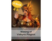 Cosplay Worbla tutorial book 'Making of Valkyrie Pidgeot (Pokemon)' by Pretzl Cosplay - E-BOOK