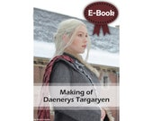 Cosplay making tutorial book 'making of Daenerys Targaryen (Game of Thrones)' by Pretzl Cosplay - E-BOOK