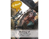Cosplay costume Worbla prop making tutorial book 'Making of Aloy's bow (Horizon Zero Dawn)' by Pretzl Cosplay - E-BOOK
