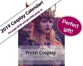 Signed Cosplay calender 2019 - by Pretzl Cosplay